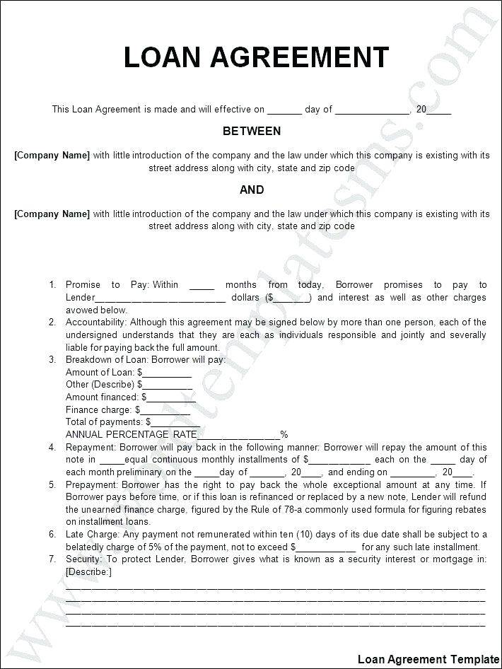 Private Mortgage Agreement Template Ontario