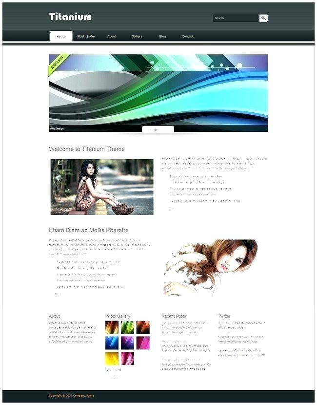 Responsive Web Templates For Dreamweaver