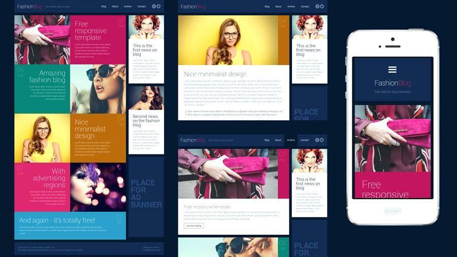 Responsive Website Templates Dreamweaver