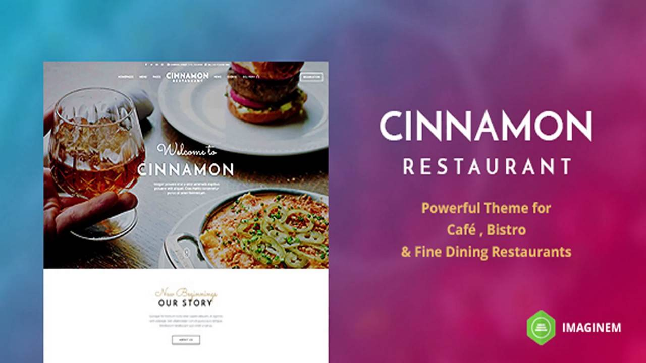 Restaurant Templates Wordpress