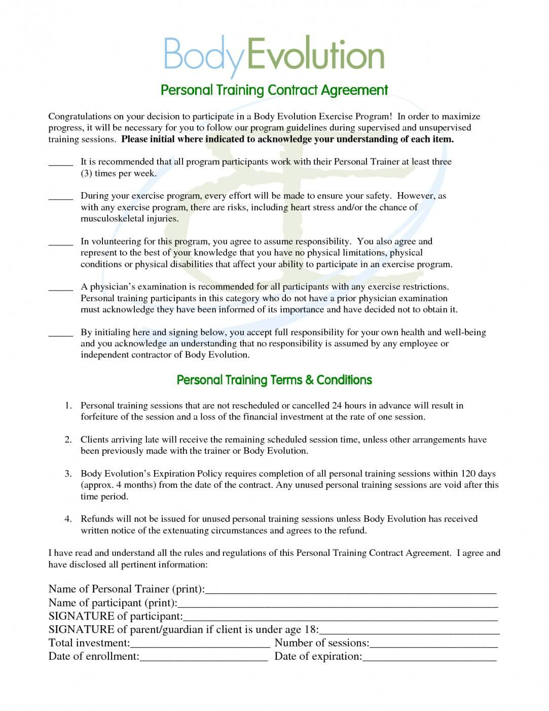 Sample Employee Training Contract Agreement