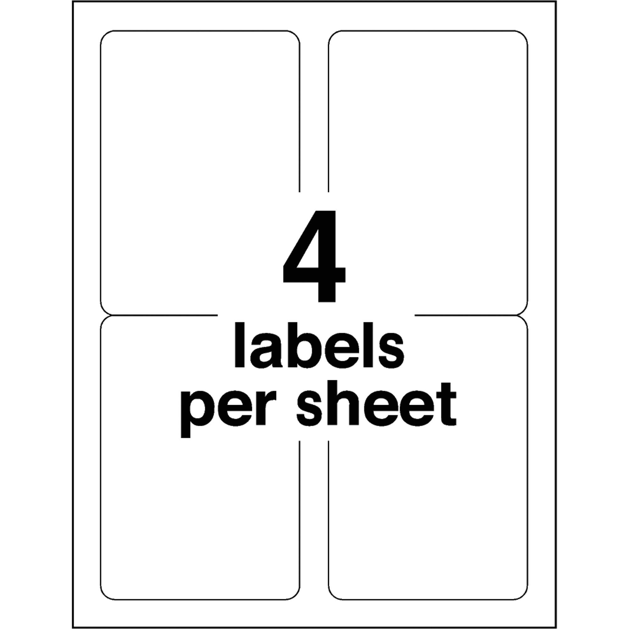 Shipping Label Template Avery 5168