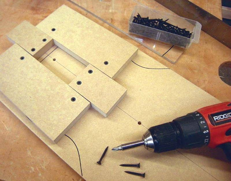 Telecaster Neck Pocket Routing Template