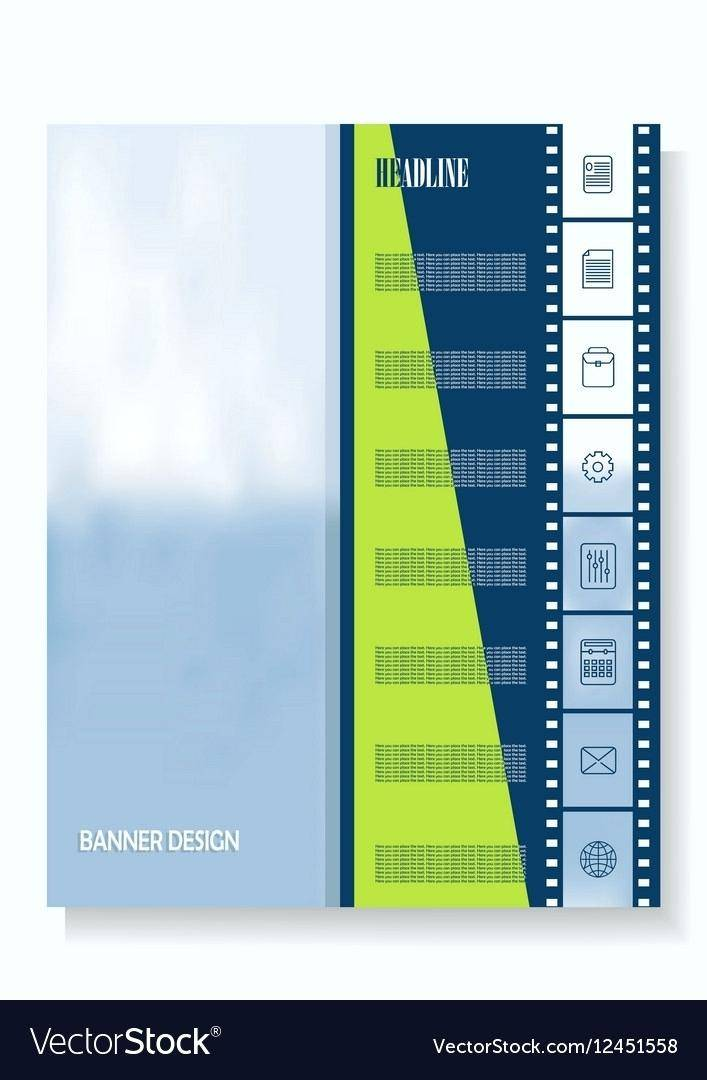 Vertical Banner Template Psd Free Download