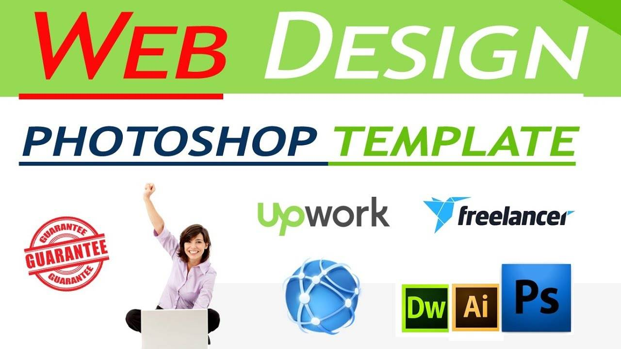 Web Design Templates Photoshop Tutorials