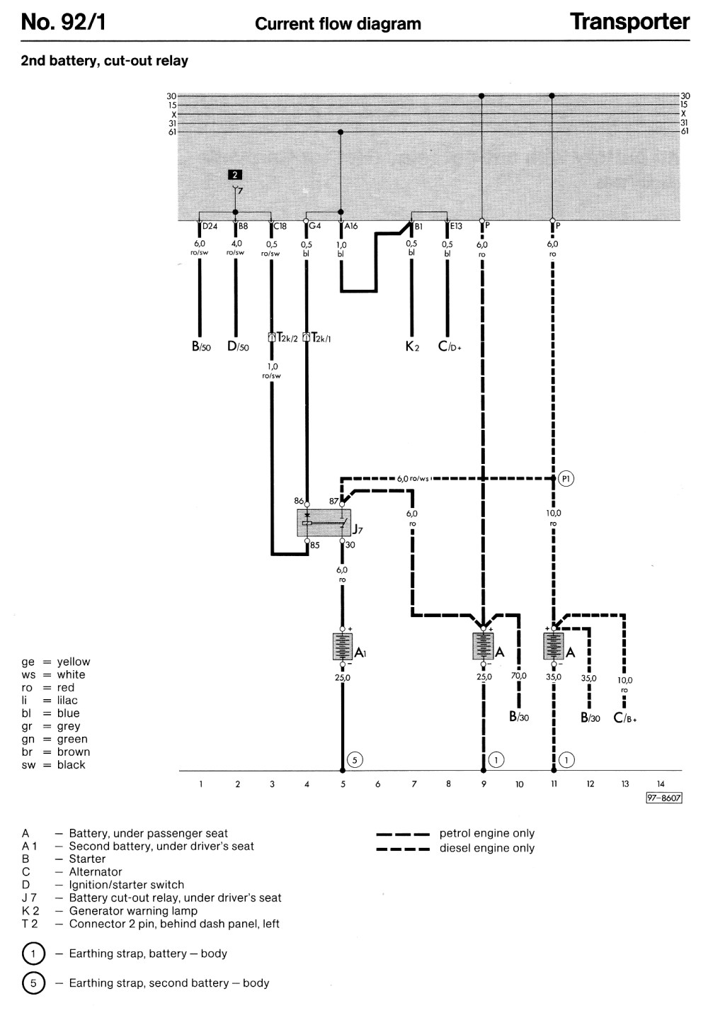 medium resolution of second battery cut out relay