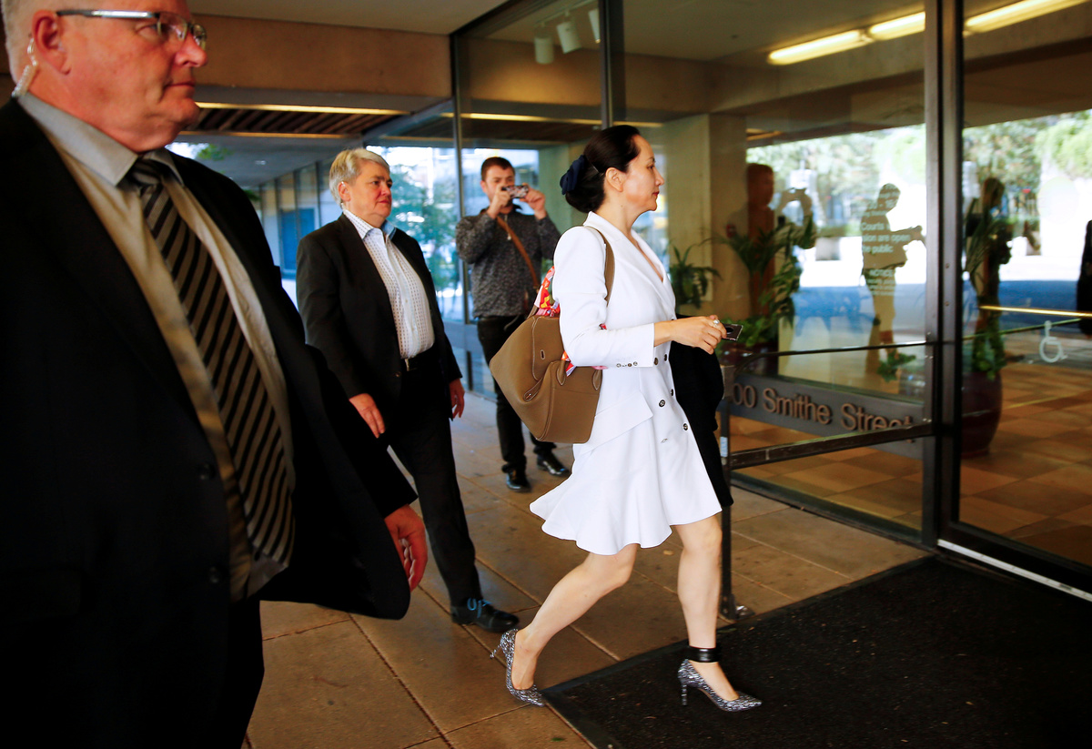 inkl - Reuters - Canada denies sharing Huawei CFO Meng's devices ...