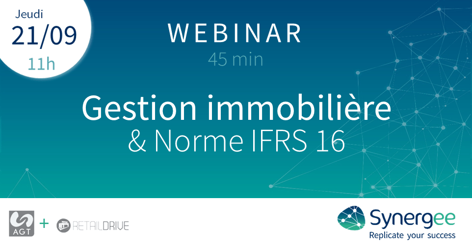 Webinar Synergee : Gestion immobilière & Norme IFRS 16
