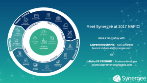 Meet Synergee at MAPIC