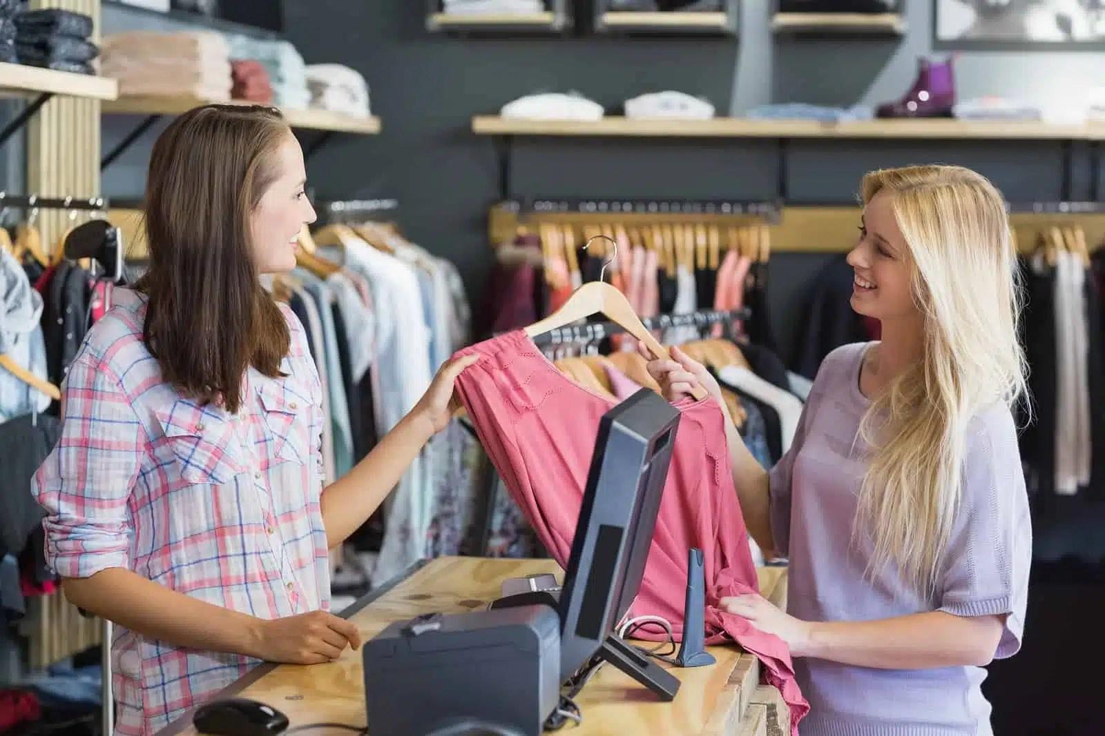 Maintenance magasin de vêtements