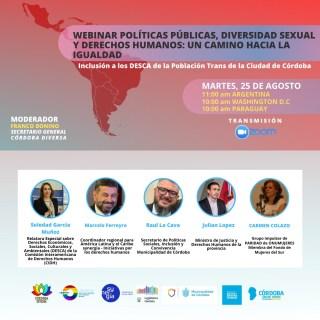 2020-08-25 - Cordoba - Webinar Politicas Publicas Diversidad Sexual y DDHH - MEF