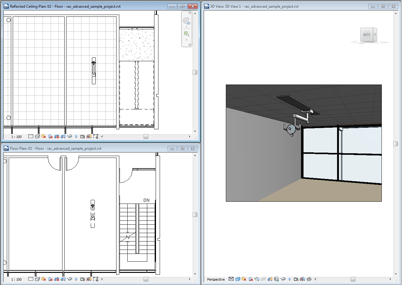 hight resolution of back to basics with revit families why ceiling based families don t display