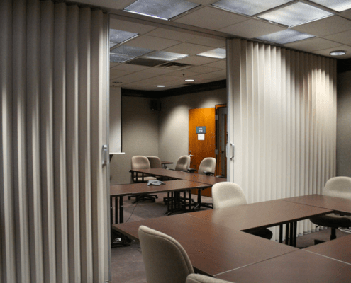 Accordion doors by Synergy