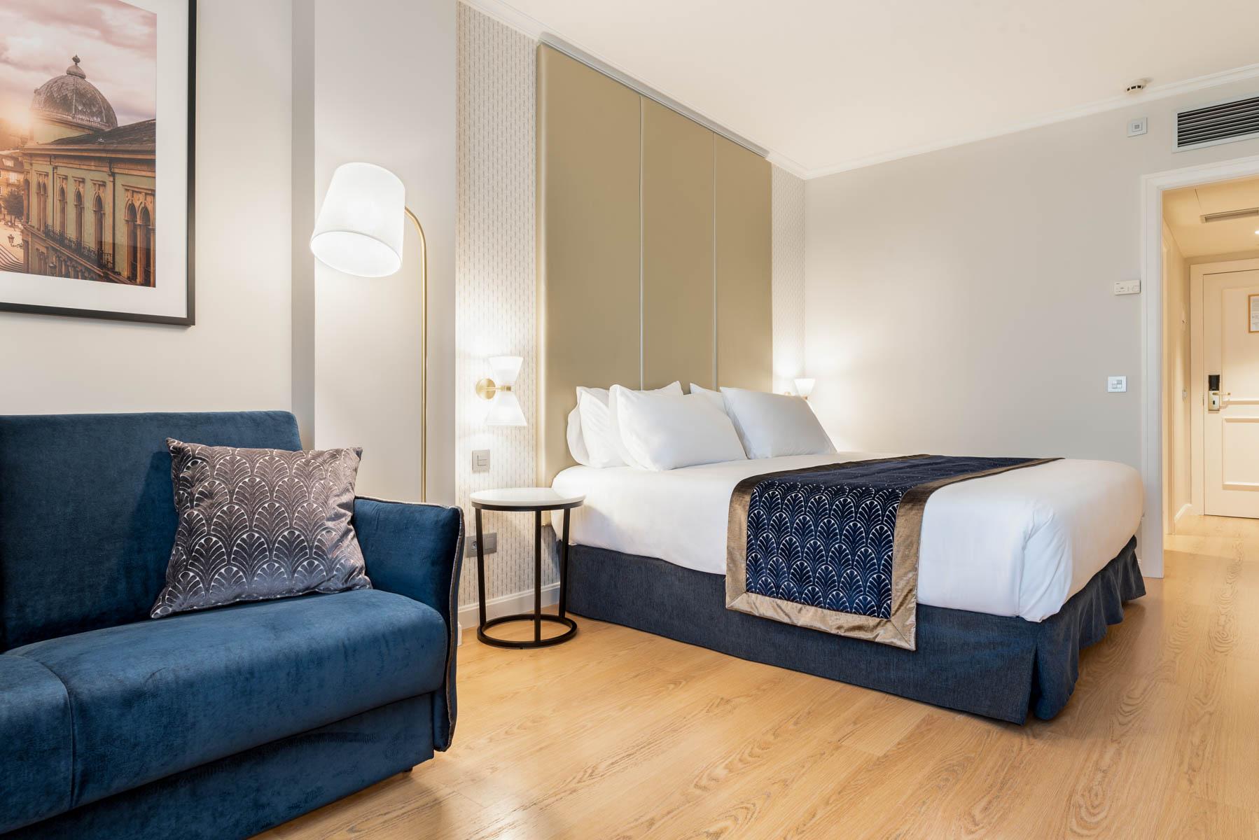 Habitaciones del Hotel Gran Hotel Lugo