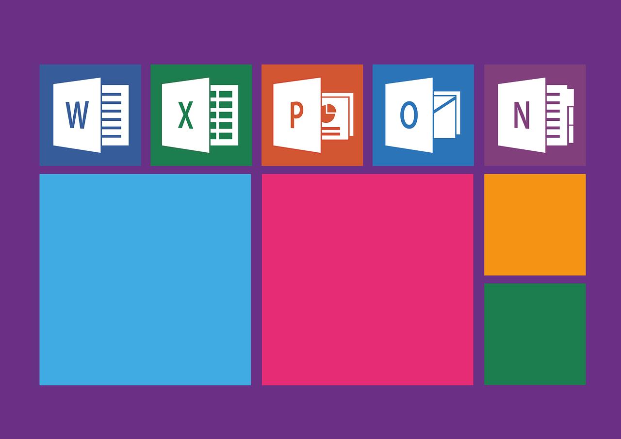 Microsoft office programs.