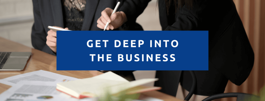 Diving Deep into your new business