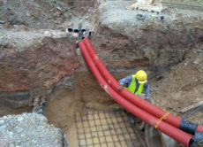 underground utility cabling construction company for sale nyc