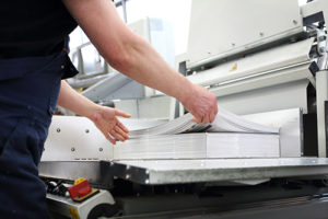 Image paper and printing