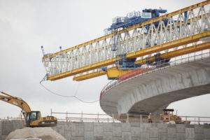 Purchase a highway infrastructure construction company.