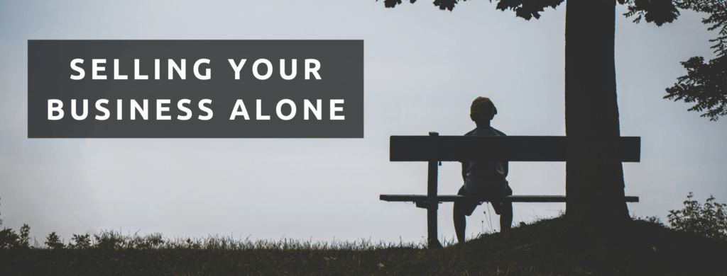 Sell your business alone