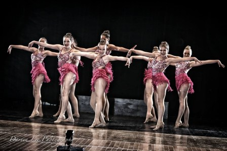 """Senior Small Group Jazz 2015. """"Beautiful People"""", choreographed by Sarah Zeisser."""