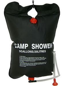 Solar Camp Shower bag