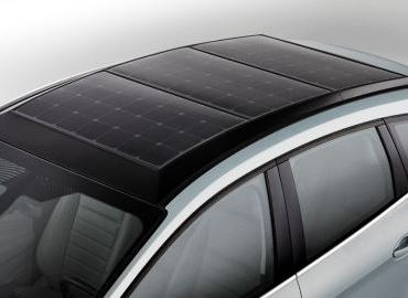 Ford C Max Hybrid with Solar panels