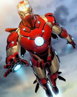 Iron Man Bleeding Edge Costume