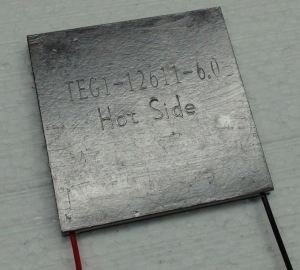Peltier thermoelectric module can be used to cool PV