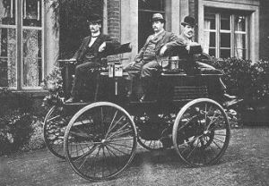 Thomas Parker Electric Car 1884