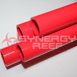 Red 1 inch pvc pipe