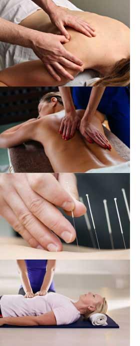 Synergystix Massage types