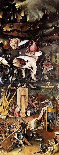 Hieronymus Bosch, Garden of Earthly Delights Public Domain Image via Pixabay