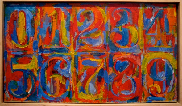 Jasper Johns: Zero to Nine Creative Commons Licensed Image by eliotc on Fotopedia