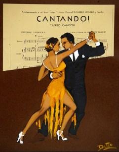 Tango poster Public Domain