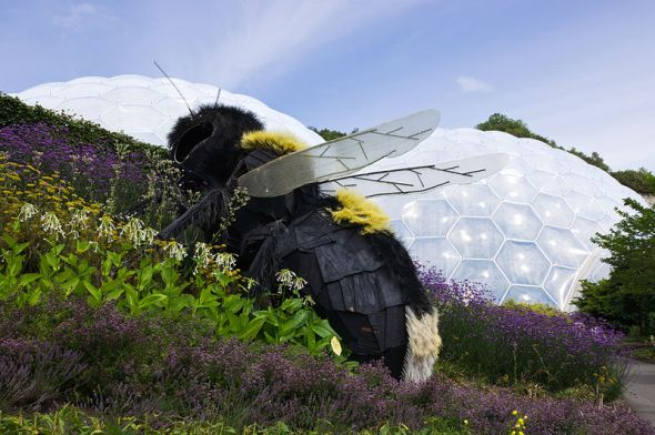 The Bombus Bee by Robert Bradford, Eden Project © colin with CCLicense