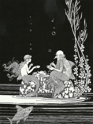 The Merman's Glass House by Ida Rentoul Outhwaite  image © Sofi with CCLicense