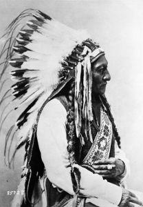 Tȟatȟáŋka Íyotake, Sitting Bull, Chief of the Hunkpapa Lakota Sioux
