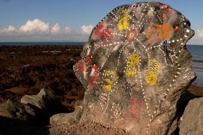 Rock art, Redcliffe, Queensland © Leonard John Matthews with CCLicense