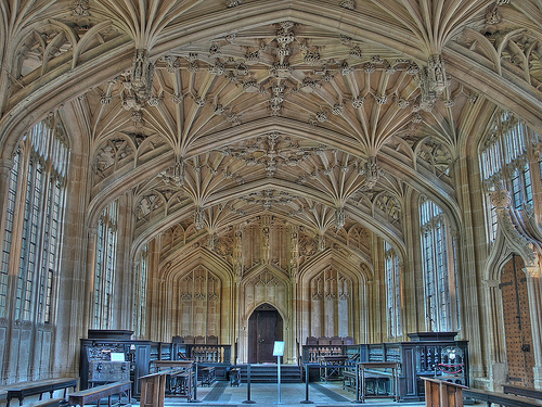 Divinity School, University Of Oxford  © Lens_Flare with CCLicense