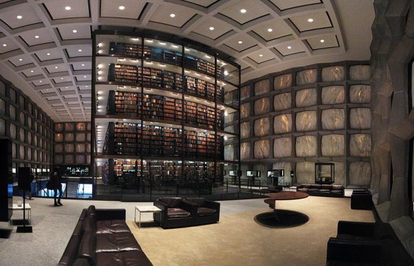 Beinecke Rare Book and Manuscript Library, Yale University © Lauren Manning with CClicense