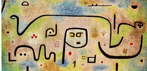 Insula Dulcamara, Paul Klee, 1938
