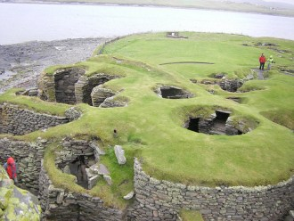 Jarlshof archaeological site, Sumburgh, Shetland © gordontour with CCLIcense