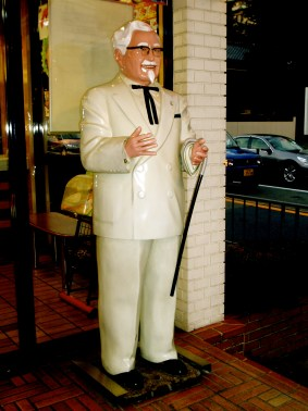 Colonel Sanders, KFC Japan © Alvin Lee with CCLicense