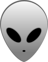 Grey Alien © Alien-hack-master with CCLicense