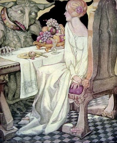Beauty and the Beast Anne Anderson