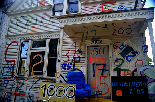 """""""Number House"""" © Nic Redhead with CCLicense"""