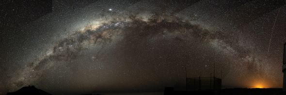 The Milky Way from Cerro Pernal, Chile © Bruno Gilli/ European Southern Observatory with CCLicense