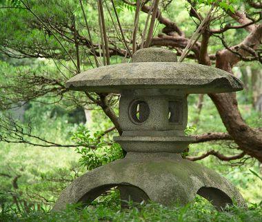 Tōrō at Shukkei-en Garden, Hiroshima Public Domain Image
