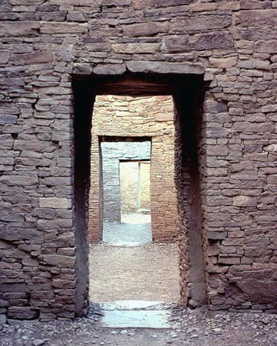 Chaco_Canyon_Pueblo_Bonito_doorways_NPS